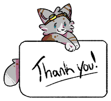 Thanks2 by FoxFeather1Draws