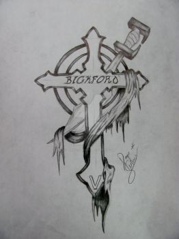 Cross Tattoo by maniacaljoker