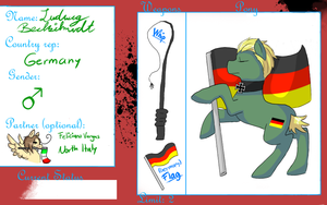 My Little Hetabrawl Application : Germany by Ask-Pony-GerIta