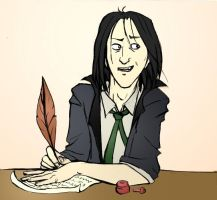 Snape Working by felegund