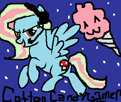 Cotton Candy Gamer by GalaxyCookie