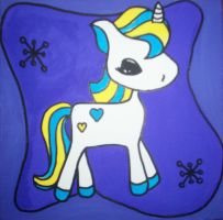 My little UNICORN number 2 by Mz-bitch