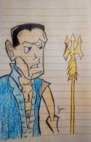 Namor (Color) by gravitywild