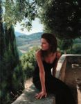 On the Battlements, Montecastello di Vibio by evincent