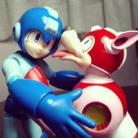 Megaman and your Megafriend by Zaphy-G