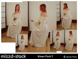 Kiana Pack 5 by mizzd-stock
