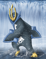 My Elite - Empoleon by ravenclawyoshi