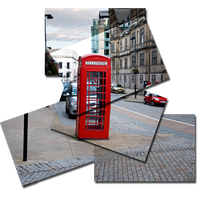 Phone box 'Style: Hockney' by nomis78
