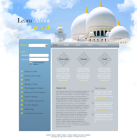 Islamic Website by scarlett-mist