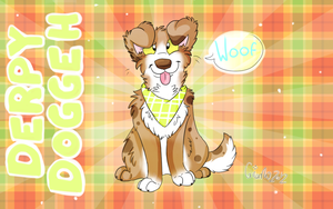 Herp A Derp Doggeh by DogFwish