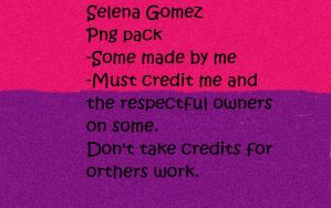 Selena Gomez Png Pack by MaddieLovesSelly