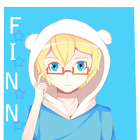 Adventure Time-Finn by JiLL29