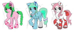 DRAW TO ADOPT PONIES~ closed by Piyos-Adoptables