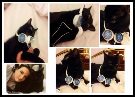 headphone Black Butler for CAT by MissSebasuchan