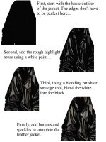 Leather Tutorial by khlasher
