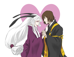 Kyousougiga VDay by Mithros42