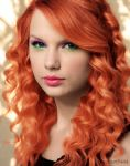 Taylor Swift Hair Colourize by sanam5484