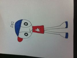 Homestar runner in my design by burntuakrisp