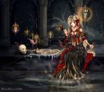 Lantern Queen - Thanatos by Nyanfood