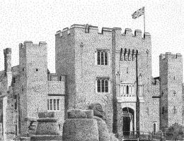 Hever Castle, Kent by thedotman