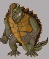 Gamera Redesign by Mislaid-Isis