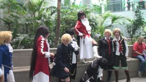 Multiple Alice, Gil and Oz from Pandora Hearts by trivto
