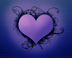 Valentine Wallpaper _Dark_ by DarkStarsRising6