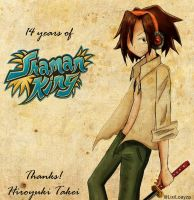 14 years of Shaman King by LixiLoayza