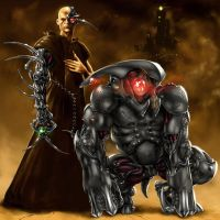 Inquisitor and Hounddog 2199 by Isra2007