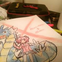 pkmn. Dianthus and Madokarp by Frogberri