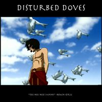 Disturbed Doves by SaucePear