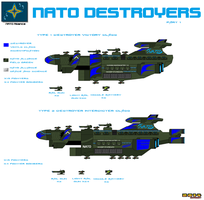 Nato Alliance Destroyers part 1 by Luckymarine577