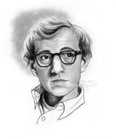 Woody Allen by nabey