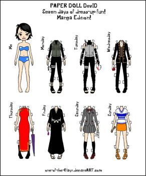 Paper Doll DevID - Manga by one-of-the-Clayr