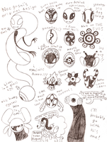 Squiggly Shadow Critter Beta Designs by Bunni89