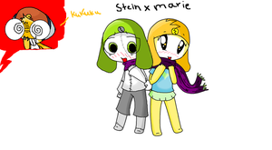 Stein X Marie sgt frog style by OliviaMilligan
