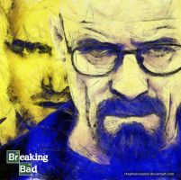 Heisenberg and Pinkman by thephoenixprod
