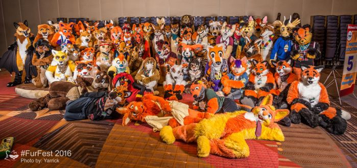 MFF 2016 - 25/38: Orange and Yellow Furs #6 by Pheagle-Adler