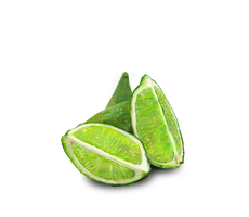 Lime Half in Four Wedges by emptypulchritude