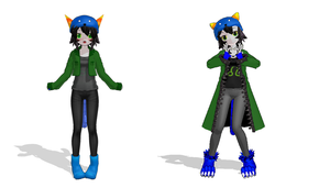 MY NEPETA MODEL by Blackrose-Assasin