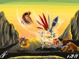 Fire Vs. Metal- PMD 3 by Hikara-Productions