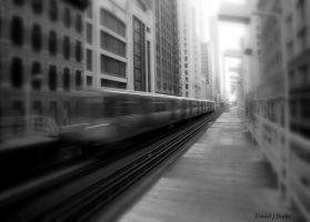 Chicago L XI by DanielJButler