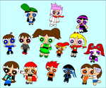 Powerpuff OC Group Shot by RCBlazer
