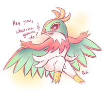 HAWLUCHA GONNA DO by Reshidove