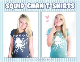 Squid-chan Tee's by MoogleGurl