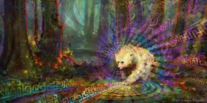 Spirit Bear by Kudiah