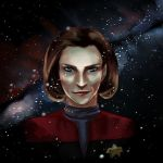 Capt. Kathryn Janeway by housunnappi