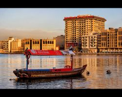 Banking Along The Dubai Creek by MARX77