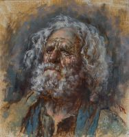 Old Man Study by florian-lipan