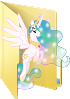 Celestia folder icon by Julunis14